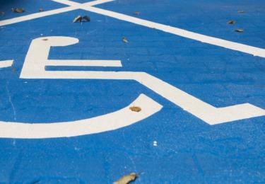 Dla pojazdów osób niepełnosprawnych