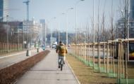 Budowa dróg rowerowych wzdłuż Alej Jerozolimskich