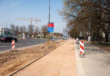Budowa drogi dla rowerów wzdłuż ulic Okopowej i Towarowej