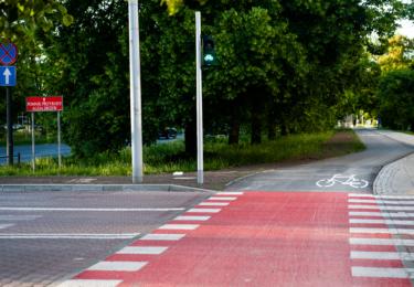 Budowa drogi rowerowej wzdłuż ul. Żwirki i Wigury – etap II