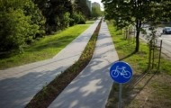 Budowa drogi rowerowej wzdłuż al. Stanów Zjednoczonych i ul. Ostrobramskiej