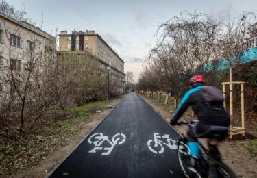 Budowa drogi rowerowej wzdłuż al. Prymasa Tysiąclecia