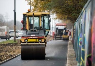 Budowa dróg dla rowerów wzdłuż ul. Puławskiej