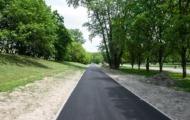 Budowa drogi dla rowerów na Polu Mokotowskim