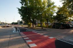Ścieżka rowerowa i chodnik - Powstańców Śl. (2) - Bemowo 5 / Millera, pętla Nowe Bemowo-Żołnierzy Wyklętych