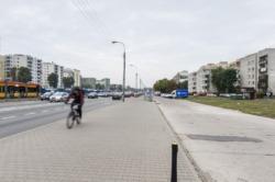Ścieżka rowerowa wzdłuż Powstańców Śl. - ostatni brakujący odcinek
