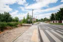 Remont chodnika wzdłuż ul. Sytej od Osiedla Ogrody Wilanowskie do przystanku autobusowego Glebowa 02