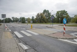 Bezpieczne przejście przez Białołęcką