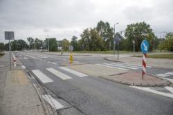 Oznakowanie przejść dla pieszych - Kocie Oczka dla Białołęki – Mehoffera i Milenijna.