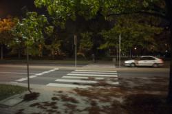 Doświetlenie przejścia dla pieszych - ul. Sokratesa x Balzaka