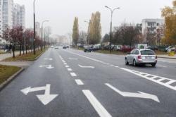 Bezpieczne przejścia dla pieszych i pasy rowerowe na ul. Stryjeńskich.