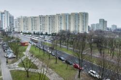 Zatoka parkingowa przy ulicy Wyszogrodzkiej