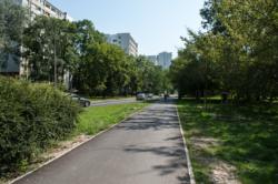 Budowa ścieżki rowerowej na Polu Mokotowskim