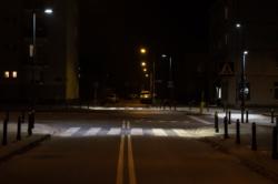 Doświetlenie przejścia dla pieszych - skrzyżowanie Żeromskiego x Płatnicza
