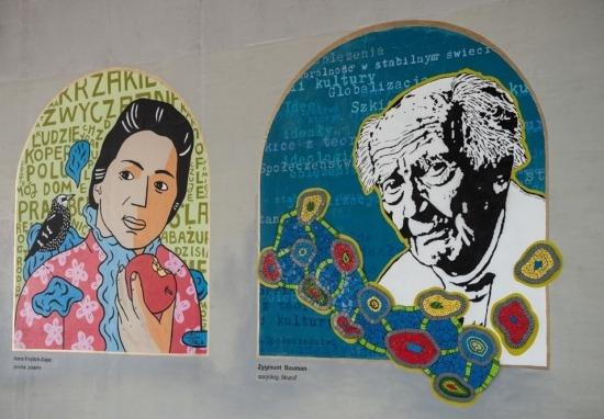 """Galeria murali ,,Witamy w domu"""""""