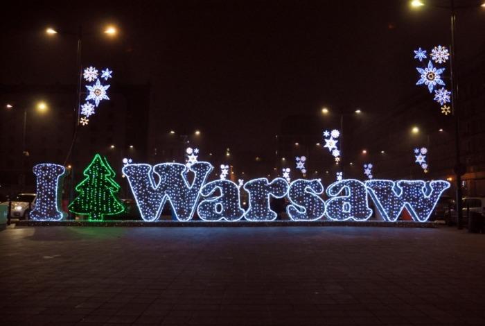 2000000 światełek w prezencie dla Warszawy