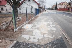 Budowa chodnika - ul. Czwartaków
