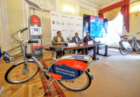 Nowe rowery i terminale