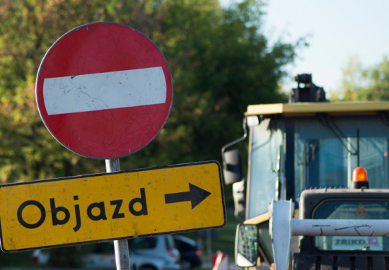 Zamknięta ulica Żelazna