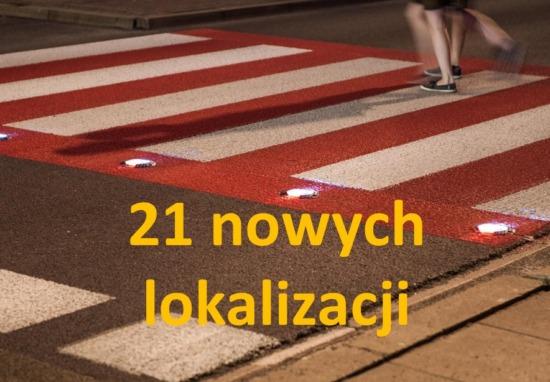 Co robimy dla podniesienia poziomu bezpieczeństwa pieszych? Kolejne aktywne przejścia w planach ZDM