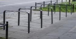 Parking – stojaki na rowery przy ul. Jana III Sobieskiego