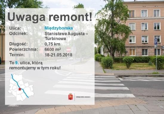 Frezujemy ulicę Międzyborską