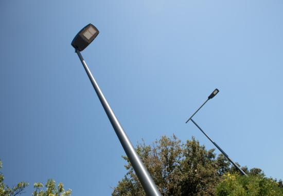 Nowe latarnie na ul. Bliskiej