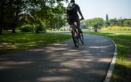 Budowa dróg dla rowerów na Polu Mokotowskim