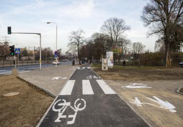Budowa drogi rowerowej wzdłuż ul. Słomińskiego od ul. Międzyparkowej do ul. Inflanckiej