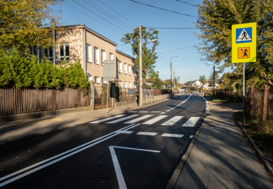 Nowy asfalt na ulicach Polskiej i Gościniec