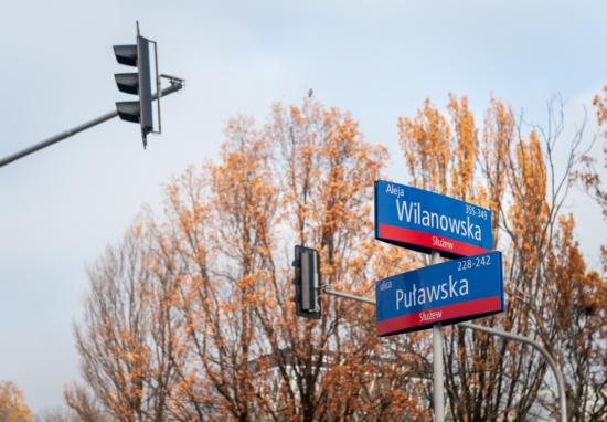 """""""Zielona fala"""" na Puławskiej coraz bliżej"""