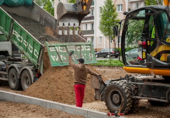 Budujemy parking na Pawińskiego