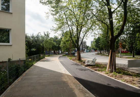 Kontynuujemy prace związane z modernizacją ulic Targówka Mieszkaniowego