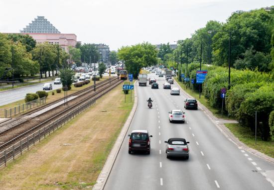 Nowe przejścia dla pieszych przy Polu Mokotowskim