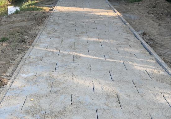 Budujemy antysmogowy chodnik na ul. Zawodzie