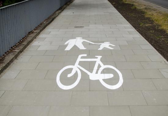 Nowy ciąg pieszo-rowerowy na Wale Miedzeszyńskim – realizujemy budżet obywatelski