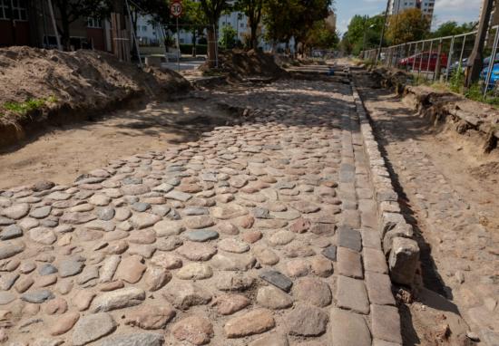 Odkrycia archeologiczne na ul. Ossowskiego