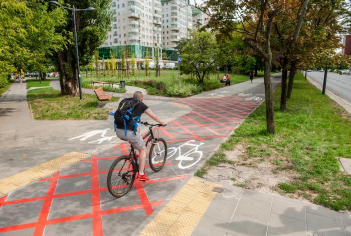 Testujemy rozwiązania dla pieszych i rowerzystów