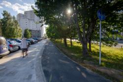 Przebudowa drogi rowerowej wzdłuż al. KEN