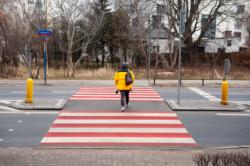 Poprawa bezpieczeństwa przejścia dla pieszych Narwik/Lazurowa