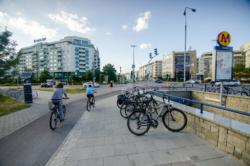 Modernizacja drogi rowerowej wzdłuż ul. Belgradzkiej na odcinku od al. KEN do ul. Rosoła