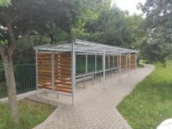 Wiaty rowerowe przy szkołach