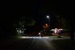 Doświetlenie przejść dla pieszych w Falenicy
