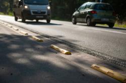 Poprawa bezpieczeństwa rowerzystów na ul. 1 Praskiego Pułku w Wesołej