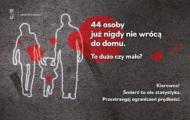 44 ofiary wypadków drogowych. Czy to dużo? Rusza nowa kampania dla kierowców