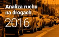 Analiza ruchu na drogach 2016