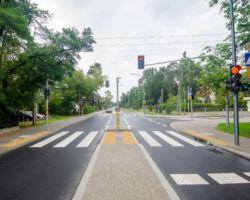 Skrzyżowanie ulic Kajki i Odrodzenia